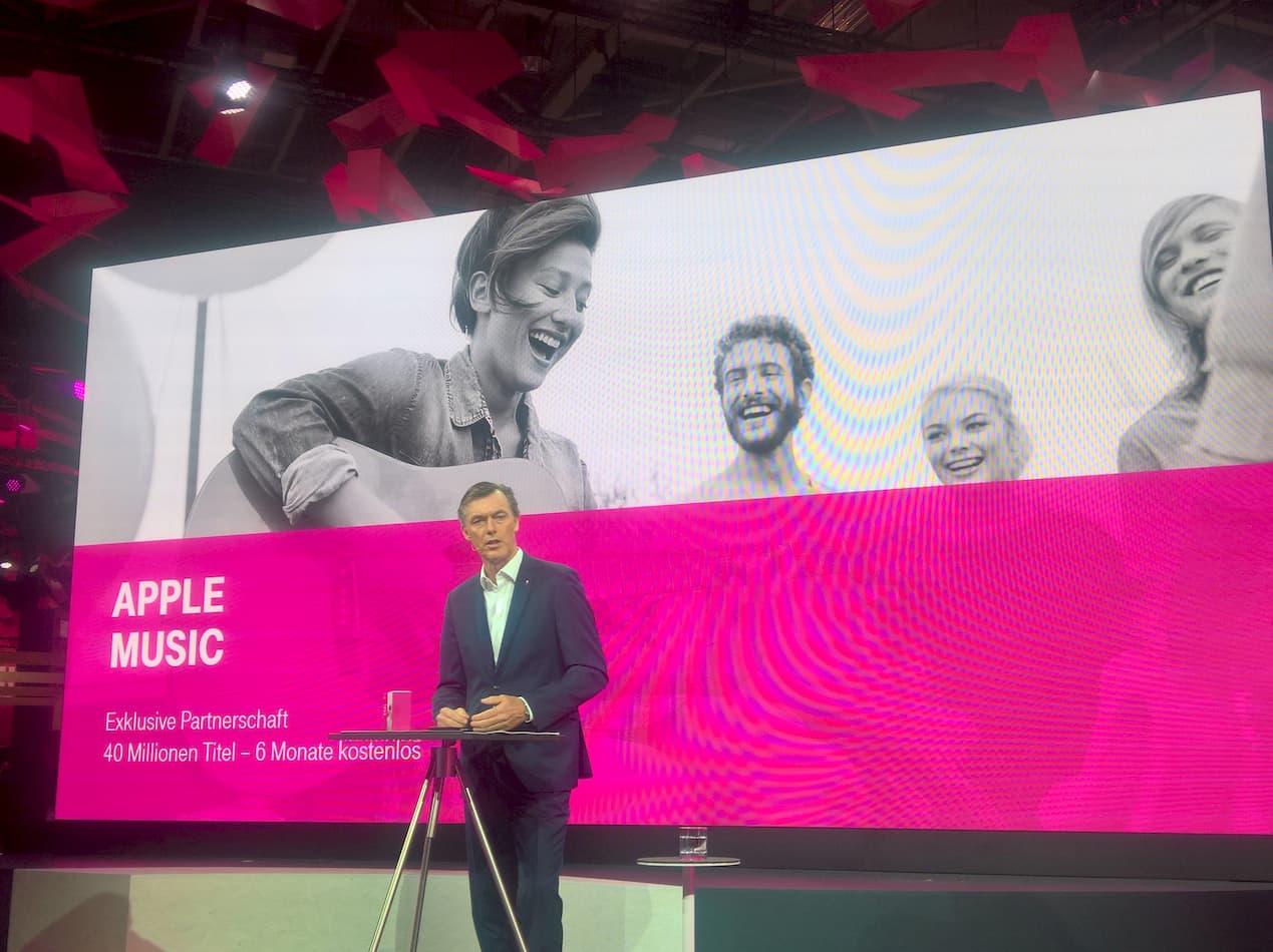 Apple Music für Telekom-Kunden sechs Monate kostenlos