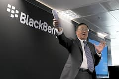 Blackberry-Chef John Chen auf dem Mobile World Congress