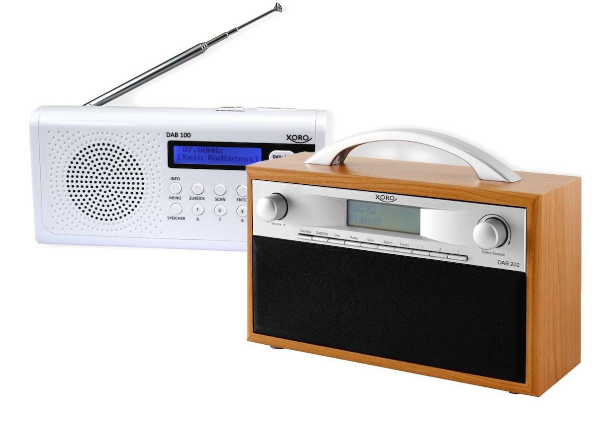 xoro steigt ins gesch ft mit dab digitalradios ein. Black Bedroom Furniture Sets. Home Design Ideas