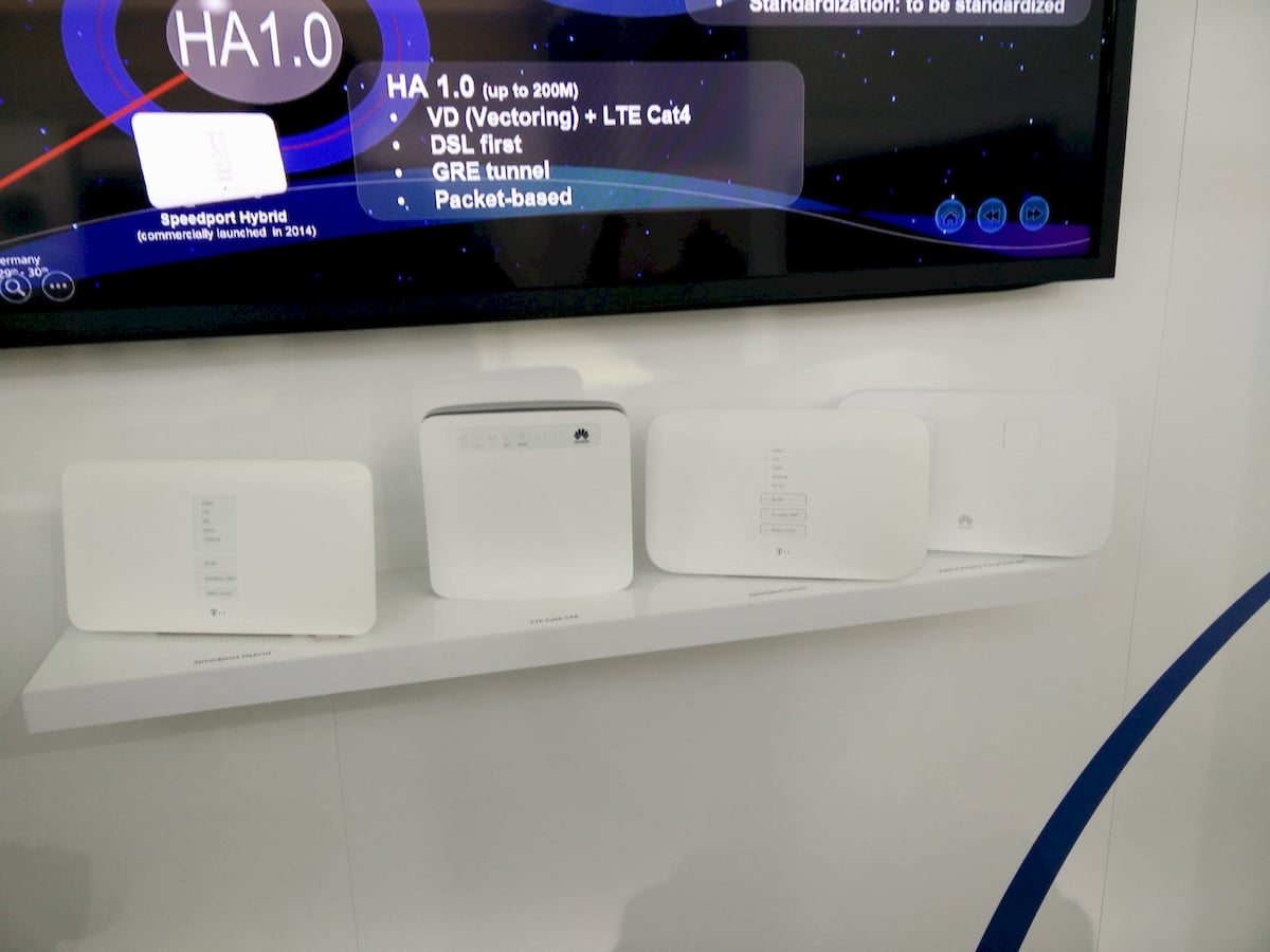 telekom hybrid router f r super vectoring lte cat 6. Black Bedroom Furniture Sets. Home Design Ideas
