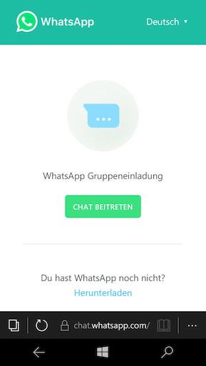 whatsapp: gruppeneinladungen per link aussprechen - teltarif.de news, Einladung