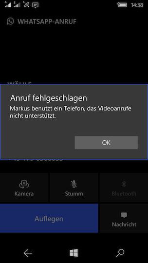 Whatsapp Videoanruf Anzahl