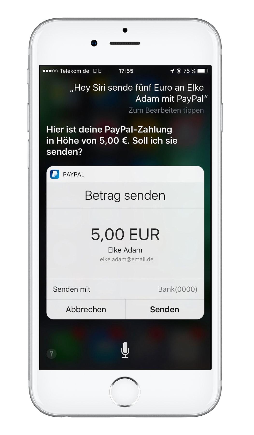 paypal geld an freunde senden geld zurückholen
