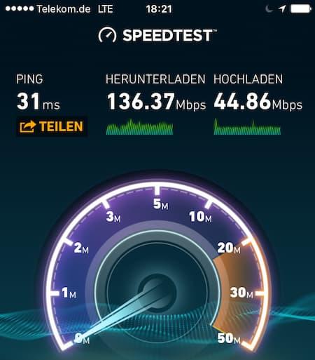 Internet Geschwindigkeit Adresse