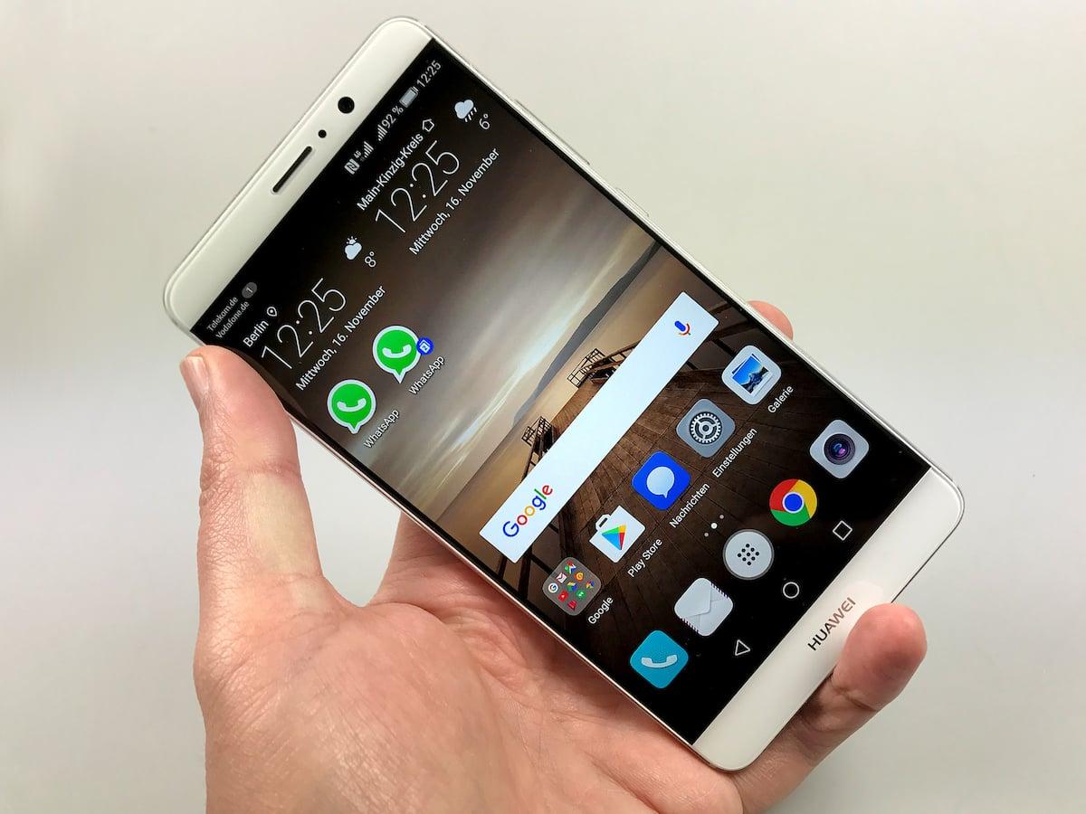 Huawei Mate 9: Das Phablet-Flaggschiff mit Dual-SIM im ...