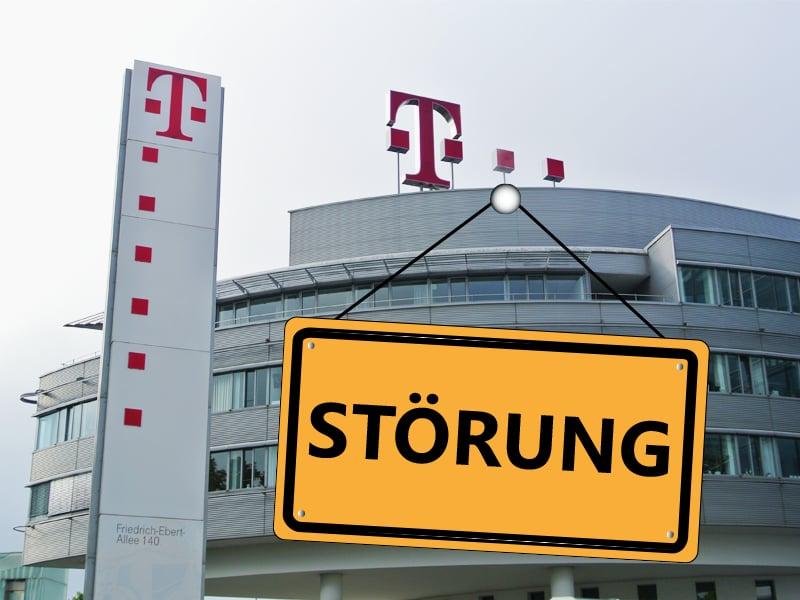 Dsl Festnetz Der Deutschen Telekom Gestört Teltarifde News