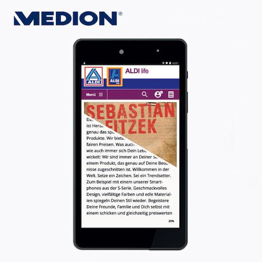 Medion E6912 E Tab Tablet Mit Ebook Reader Funktion Bei Aldi