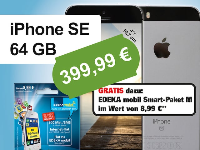 schn ppchen check iphone se f r unter 400 euro teltarif. Black Bedroom Furniture Sets. Home Design Ideas