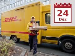 c6005d273621c3 Damit der DHL-Mann rechtzeitig kommt: Geschenke sollten online schleunigst  bestellt werden