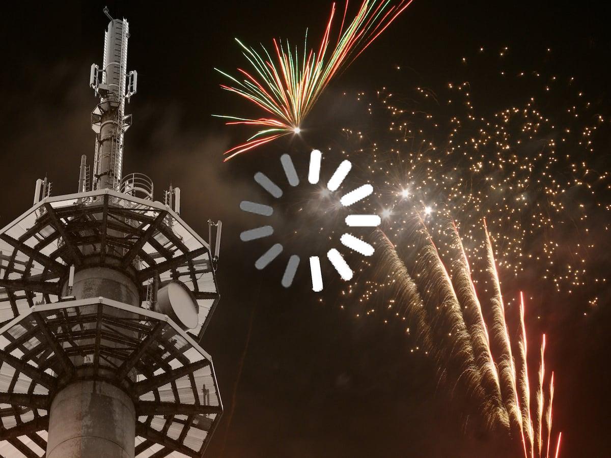 Netzüberlastung zu Silvester: Tipps für Ihre Grüße & SMS zum Neujahr ...
