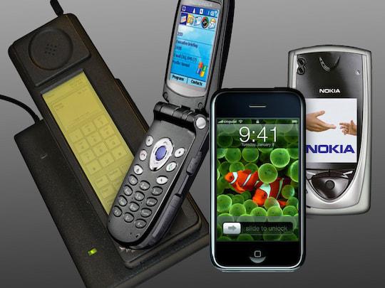 wann gab es das erste smartphone