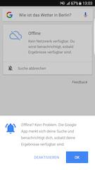 4dea6c4b52efd Offline  Google-App merkt sich Suchanfragen - teltarif.de News