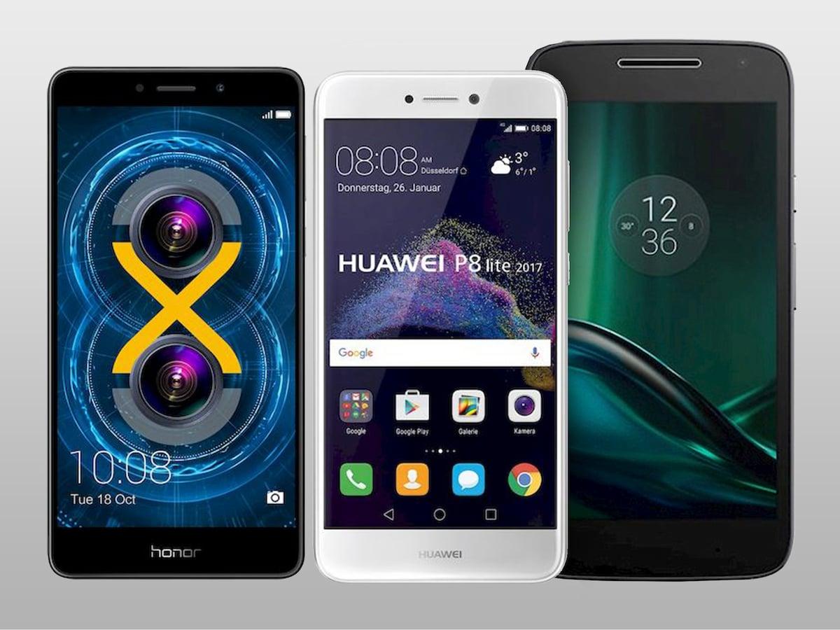 Huawei P 8 Lite Vergleich Mit Iphone 6