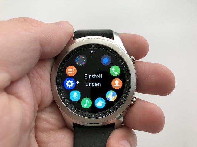 Samsung Gear S3: Smartwatch für Android und iPhone im Test ...