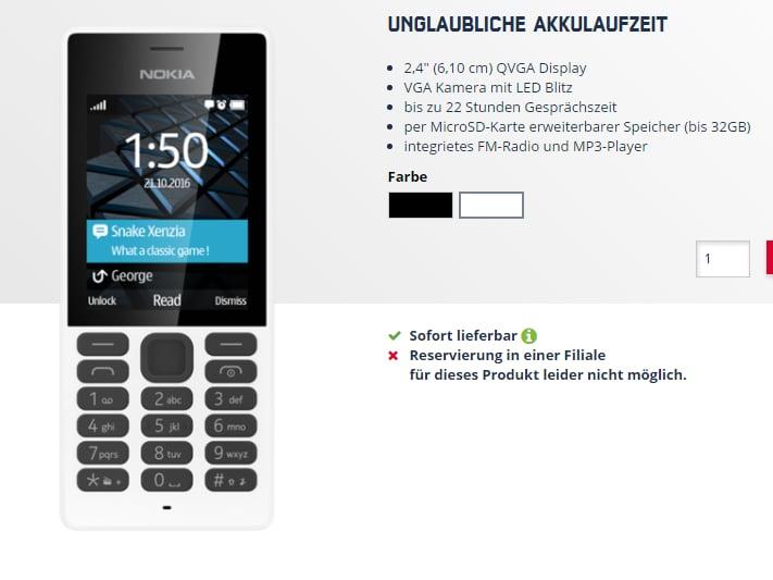nokia 150 g nstig handy der finnen in deutschland news. Black Bedroom Furniture Sets. Home Design Ideas