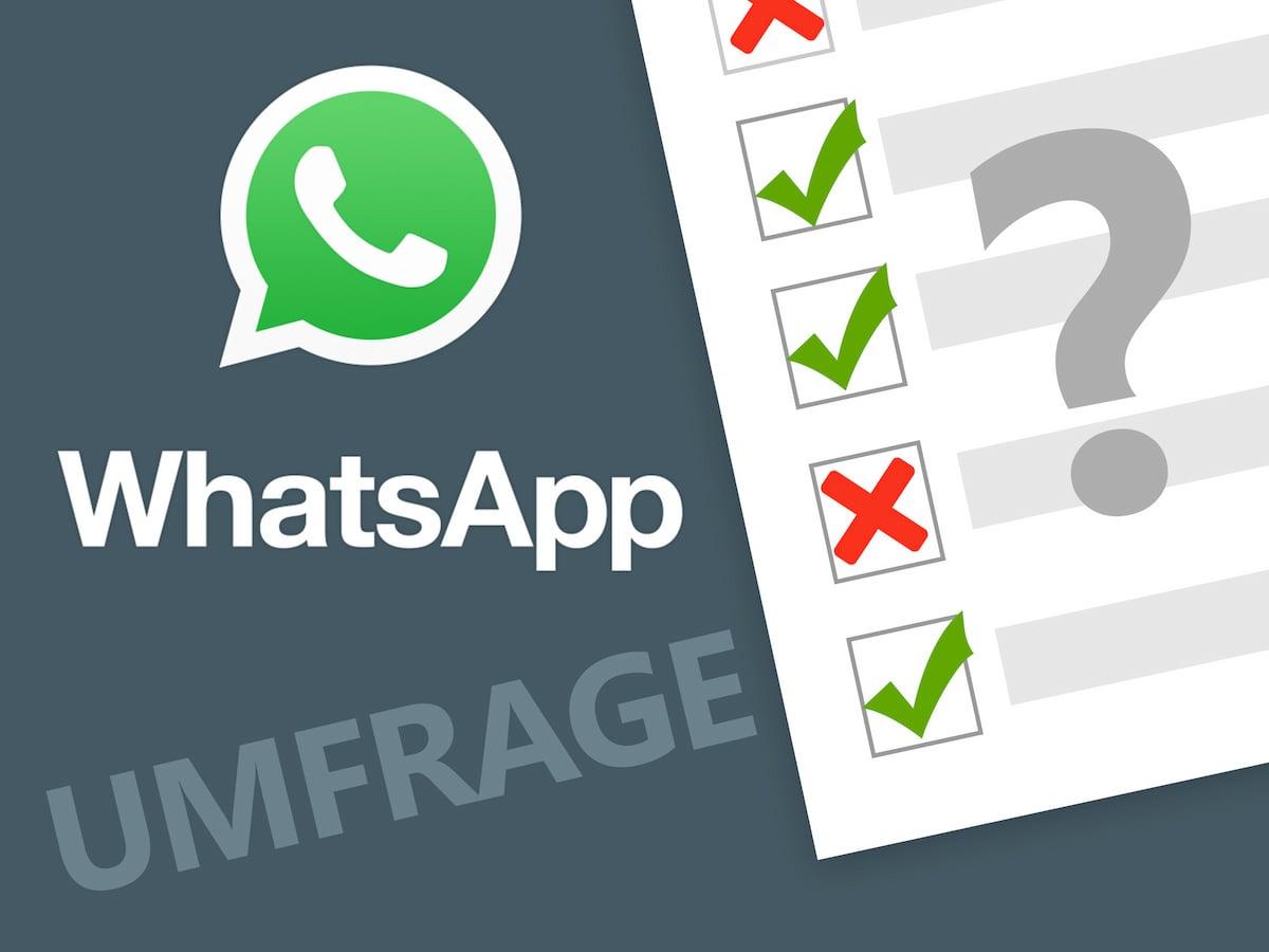 Umfrage Wie Gefällt Ihnen Unser Whatsapp Push Service