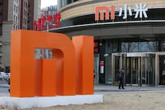 Das Xiaomi-Hauptquartier in Beijing, China.