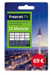 freenet karte kaufen Fernsehen zum Rubbeln: Hier gibt es die Guthabenkarten für DVB T2