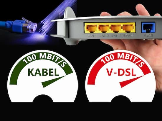 Schnelles Internet: VDSL-100- und Kabel-Tarife im Überblick ...