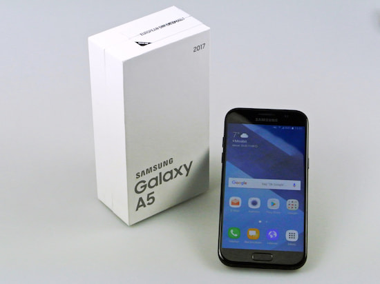 Samsung Galaxy A5 (2017) im Test: Wasserfest & Always On - teltarif ...