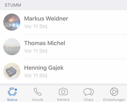 Whatsapp Status Jetzt Verfügbar Ausprobiert Am Iphone 7