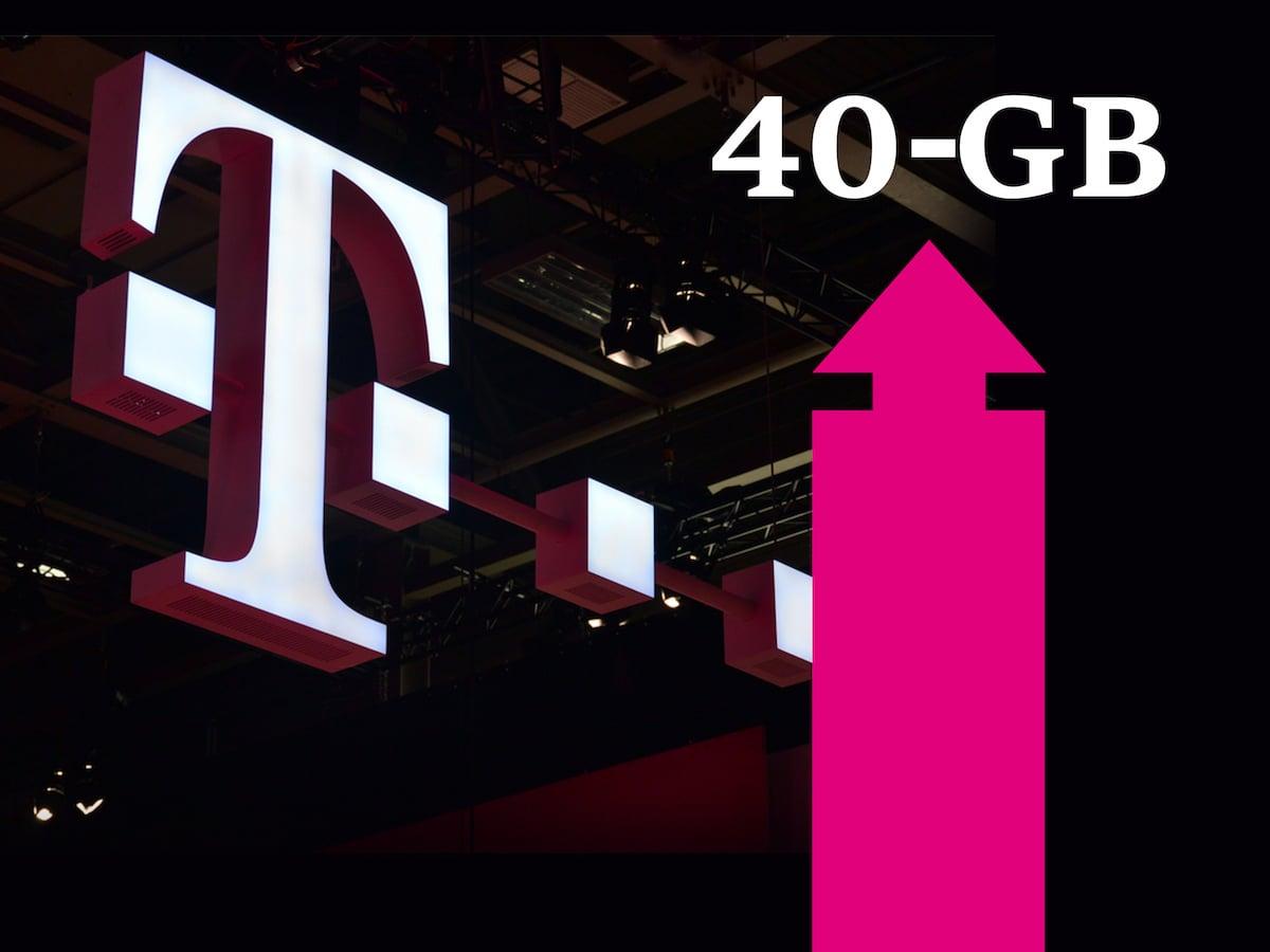 Telekom Ab Sofort Bis Zu 40 Gb Datenvolumen In Lte Tarifen
