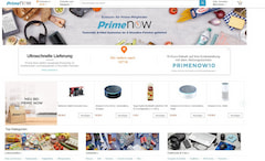 Amazon Prime Now jetzt auch per Browser