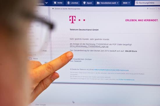 Vorsicht Gefälschte Rechnungen Der Telekom Im Umlauf Teltarifde News