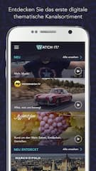 Neue TV-App Watch it!