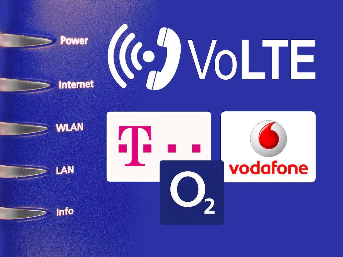 VoLTE und WiFi Calling bei Telekom, Vodafone und o2