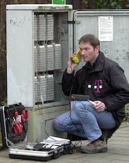 Telekom Servicetechniker