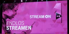 Telekom-Event zur Streaming-Option StreamOn