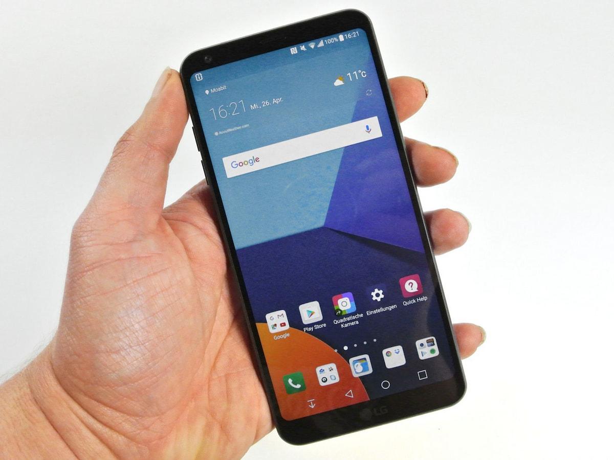LG G6 im Test: Flottes System & Dual-Cam mit Abstrichen - teltarif