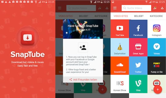 FREEdi YouTube Downloader Android