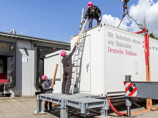Telekom Disaster Recovery Management