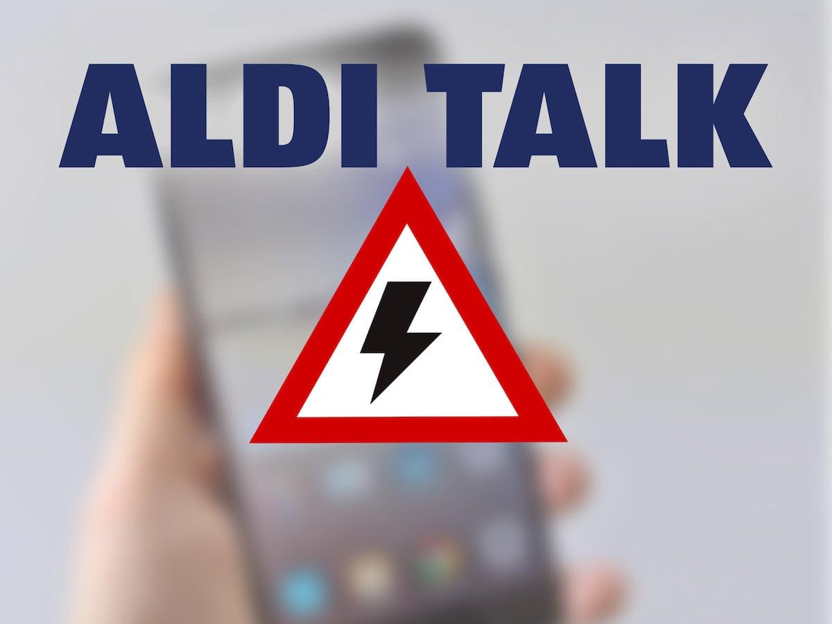 Aldi talk nicht im netz registriert