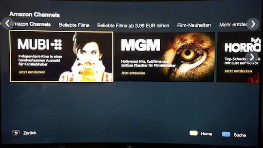 Amazon Channels im Test