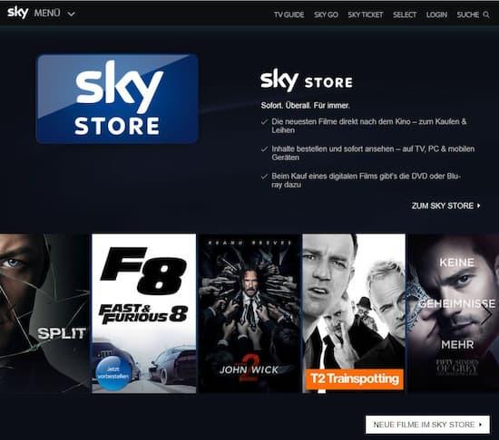 0e4f1747ce3 Rolle rückwärts  Sky verkauft jetzt auch Filme - und versendet DVDs -  teltarif.de News