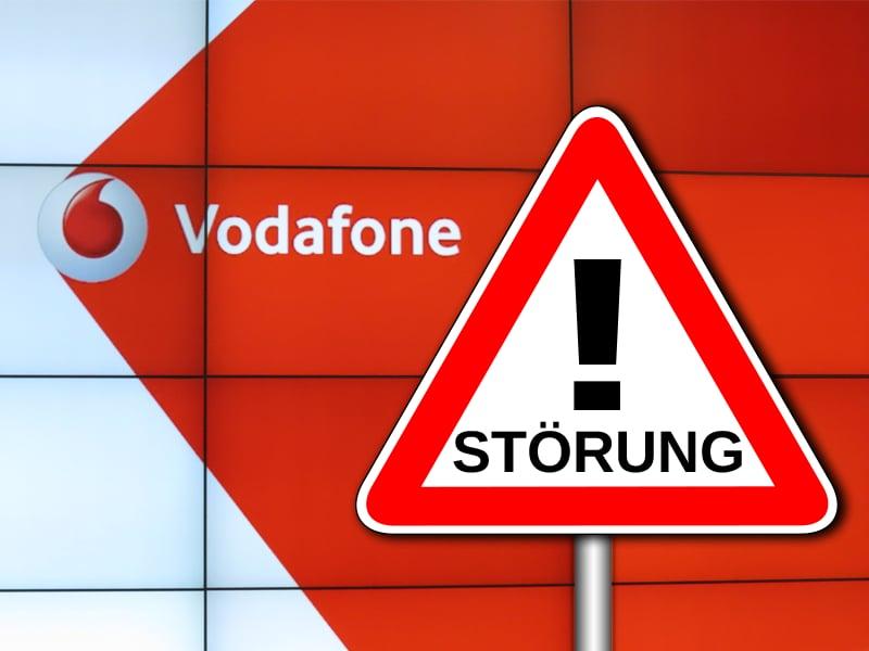 Vodafone Regionale Störung
