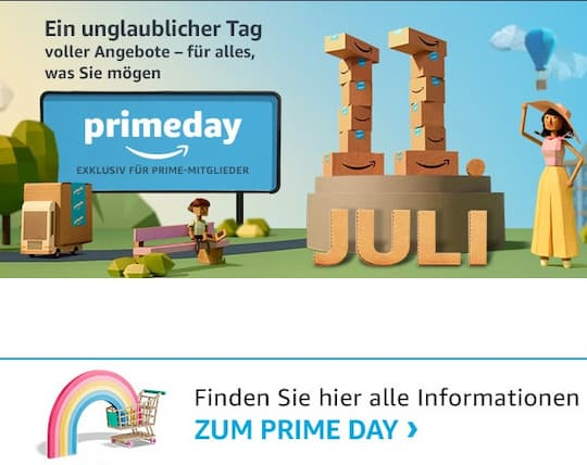 amazon prime day exklusive rabatt aktionen f r prime. Black Bedroom Furniture Sets. Home Design Ideas
