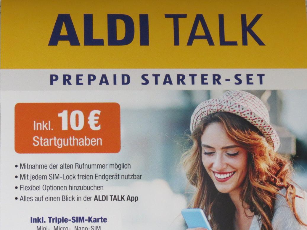 Aldi Talk Sim Karte Kaufen.Aldi Talk Prepaid Identifizierung An Der Aldi Kasse Im Test