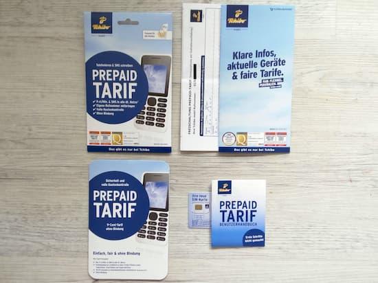 tchibo sim karte freischalten Tchibo mobil: Prepaid Identifizierung an der Tchibo Kasse im Test