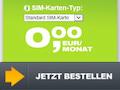 0,00 Euro: Nur in den ersten drei Monaten