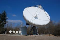 Ein Uplink für Internet per Satellit (Symbolbild)