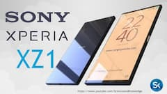 Das Sony XPERIA XZ1 via https://youtube/ScienceandKnowledge