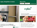 E-Plus-Homepage im Juni 2006