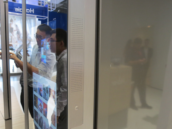 Kühlschrank Haier : Vernetzter kühlschrank von haier mit touchscreen ausprobiert