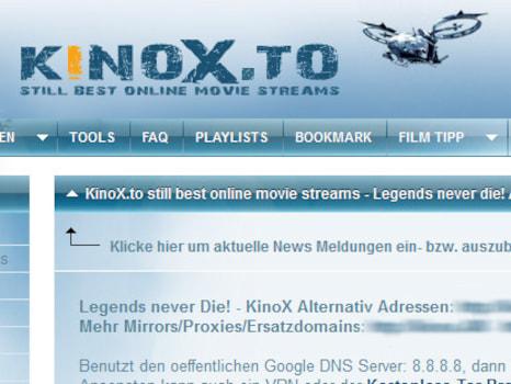 Verurteilung Kinox.To
