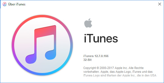 Neue Version von Apple iTunes