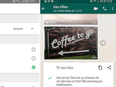 Transcriber For Whatsapp Wandelt Sprachnachrichten In Text